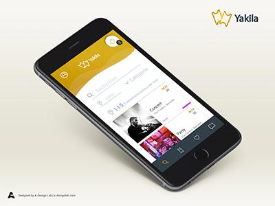 Yakila App Design 3