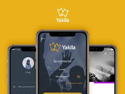 Yakila app design
