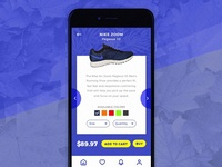 Daily Ui // Nike Check Out