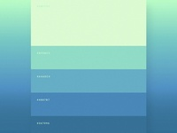 Clean Colour Palette
