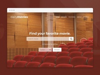 Daily Ui // Daily Movies (Find your favorite movie)