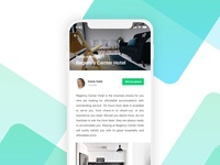 Daily Ui // Hotel Reviewer