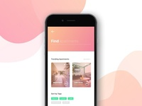 Daily Ui // Aparterents