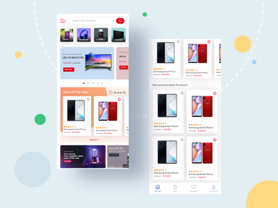 Ecommerce mobile application landing page login design ecommerce design electronic ecommerce ecommerce app home page design