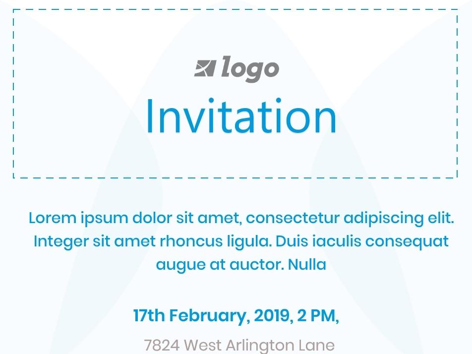 Simple Invitation Card Sample By Arjun Amgain On Dribbble
