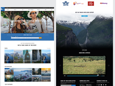 Travel Home Page travel themes travel website home page travel page