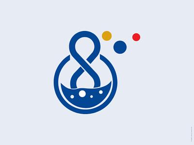 Infinity lab logo logo logo design infinity lab logo