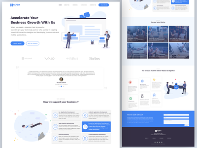 Digital Agency Landing page Design home page design landing page design home page landing page digital agency
