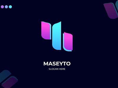 Modern Gradient Logo Design motion graphics graphic design 3d animation ui ux vector typography app illustration branding icon logo design