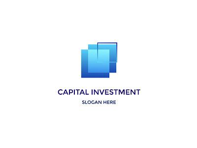 Investment Logo Design motion graphics graphic design 3d animation ui ux vector typography app illustration branding icon logo design