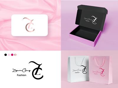 Fashion Brand Logo Design graphic design 3d animation ui ux vector typography app illustration branding icon logo design