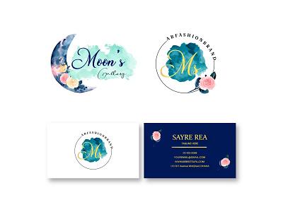 Watercolor Brand Kit Design motion graphics graphic design 3d animation ui typography illustration branding icon logo design