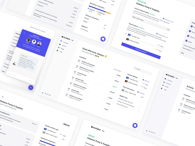 Pay Dashboard 🎰 form order eligible medical bank wallet activity cart chart payment dashboard product website app minimalist interface ux ui