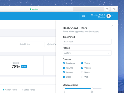 Advanced Filters 🔓 ui ux interface filters advanced settings dashboard stats data search field form