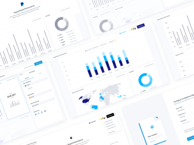 Full Report Project 📦 minimal bar view chart data reports dashboards interface ux ui