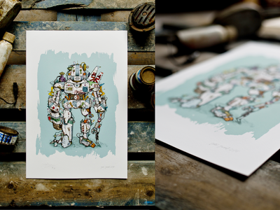 ROBOT02_limited print