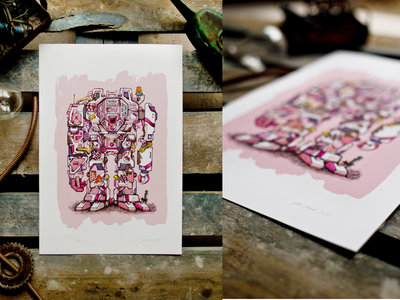 ROBOT03_limited print