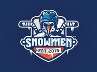 SNOWMEN_logo design