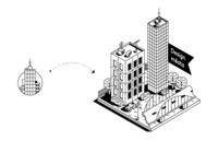 City Design_Icon_Isometric Illustration