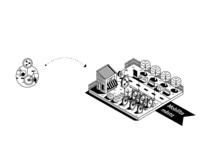 City Mobility_Icon_Isometric Illustration