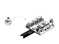 City Comunication_Icon_Isometric Illustration
