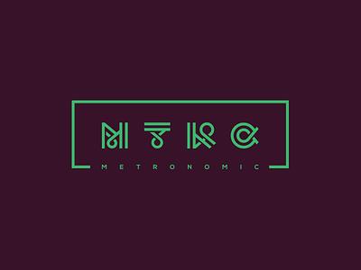 MTRC (Metronomic) c r t m music rune type letter logotype logo