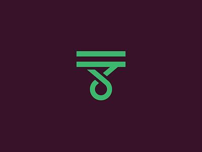 T t music mark rune type letter logotype logo