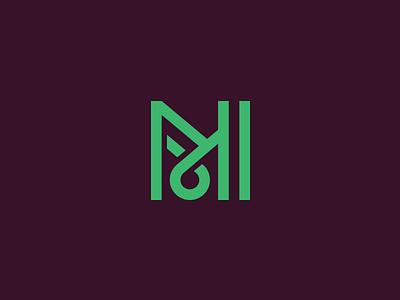 M m music mark rune type letter logotype logo