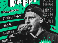 Concert poster \ Darom Dabro