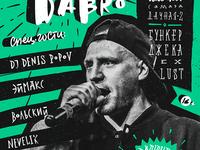 Concert poster \ Darom Dabro