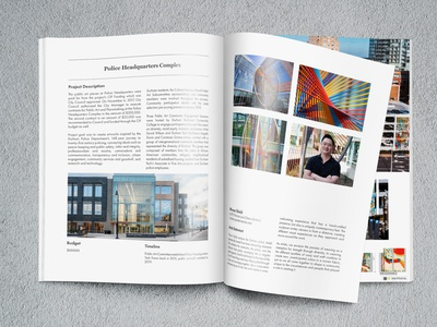 ACS Report layout design bull city design report design art report adobe indesign layout report