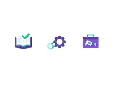 Icons for bank site