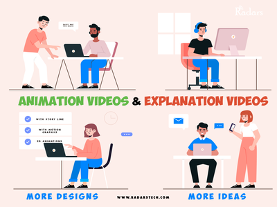 Animated Explanation Videos interesting catchy vector illustration 3d 2danimation animation explanatory video