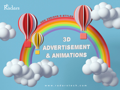 Animated advertisement and promotional videos. branding illustration catchy animation 3d 2danimation design