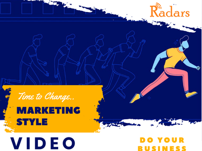 Video Marketing ui vector logo 3d illustration catchy branding animation 2danimation design