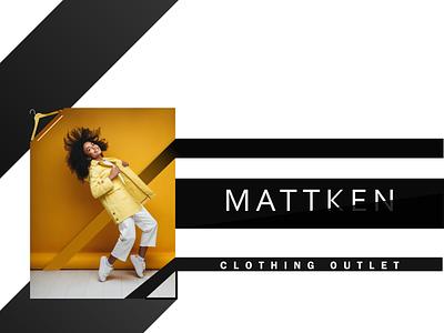 Clothing Outlet - Advertisement Board Design affinity designer fashion media modern artwork flex design graphic design flex baord banner clothing fashion outlet advertisement board flyer advertisement