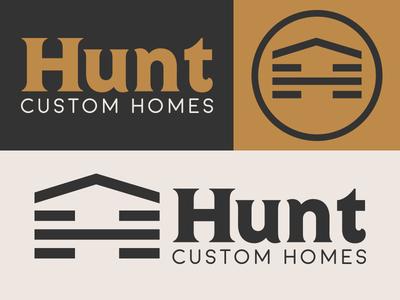 Hunt Custom Homes Branding