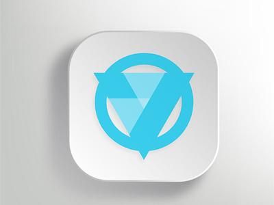 Logo for Venmo render app icon brand identity rebranding logodesign logo design vector branding logo illustration minimal graphic design design art
