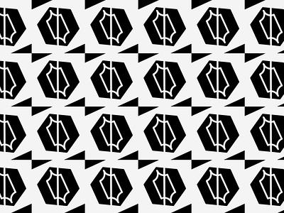 Pattern for BLØPA firm ideas packaging black and white bnw personal logo pattern branding vector logo illustration minimal graphic design design art