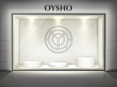 Logo for Oysho rebrand abstract oysho wear fashion monogram icon branding logo vector illustration minimal graphic design design art