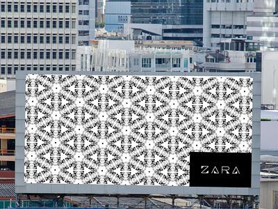 Promotional Pattern for Zara modern fashion zara promotional pattern logo branding vector illustration minimal graphic design design art