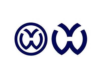 New logo for Volkswagen fresh rebranding modern monogram volkswagen automotive cars logo design logo branding vector illustration minimal graphic design design art