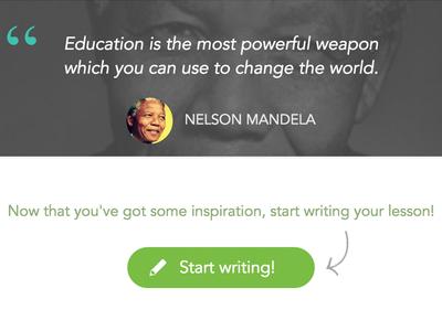 Inspiring tutors ludu education write web quote avatar learn