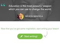 Inspiring tutors