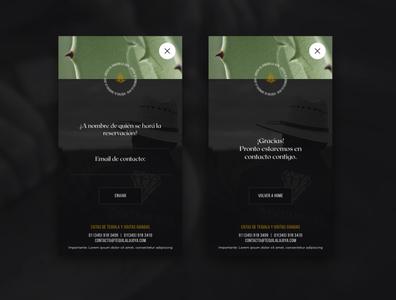 La Joya - Reservation Module designweb webdesign uxui design website