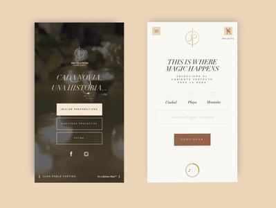 Juan Pablo Partida - Mobile designweb uxui mobile responsive website