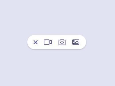 Add Content Button ui animation button add