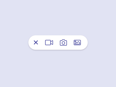 A simpler expandable button with some thoughtful easing. ui ease principle animation button