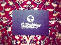 The Wedding Cinema- cards