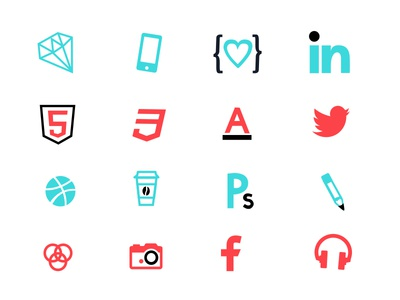 Weapons of Choice vector logo branding sketch icons